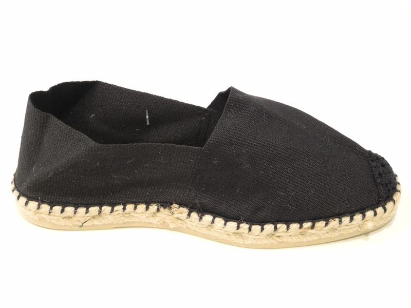 Chaussure espadrille noir - Voir en grand