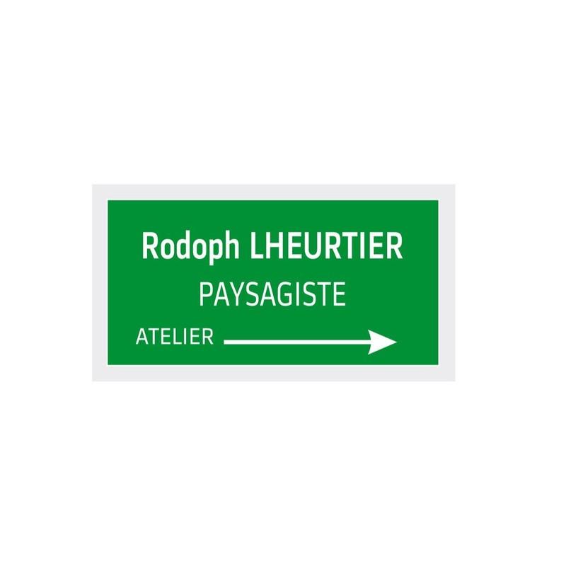 Plaque De Porte Ou Plaque De Bureau Grave  Couleurs Grenoble