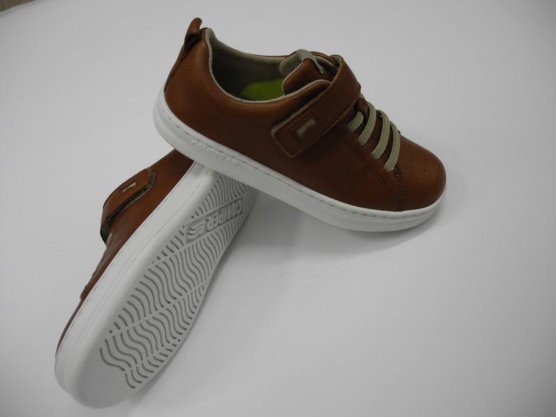 Camper chaussure cuir et caoutchouc - Voir en grand