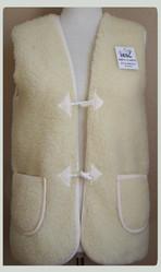 Gilets en laine sans manches hommes et femmes - Gilets, casquettes cuir - La Petite Boutique - Voir en grand