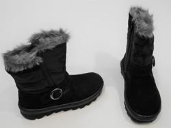 Botte de neige, noir, Superfit - Voir en grand