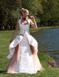 Robe de mariée modulable gourmandise version cérémonie  - Voir en grand