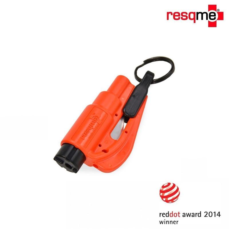 porte clé brise vitre coupe ceinture resqme compact efficace en cas d'accident accessoire pas cher - Voir en grand