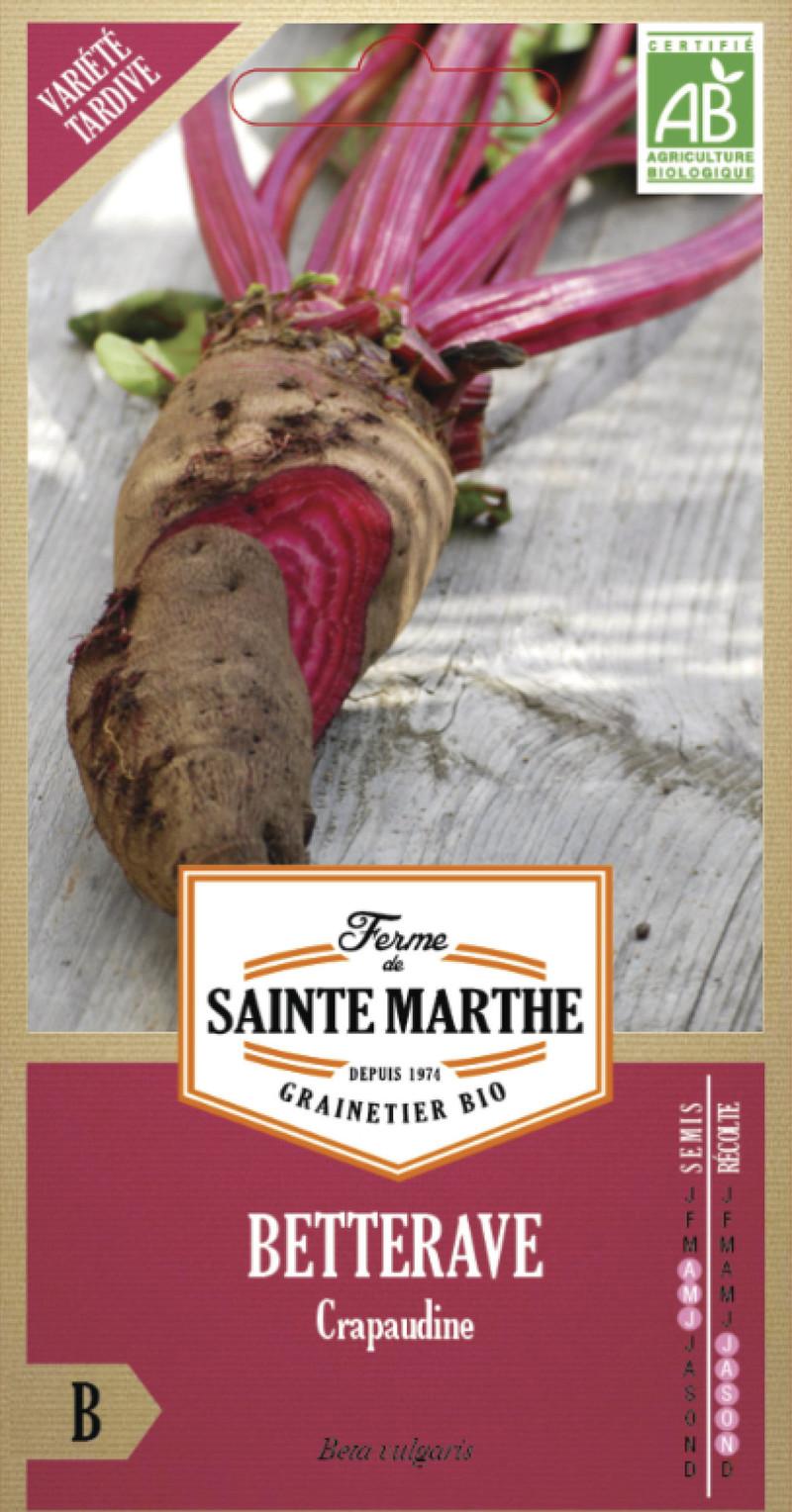 betterave crapaudine bio ferme de sainte marthe graine semence potager sachet semis - Voir en grand