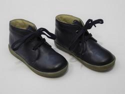 Chaussures souple bébé marine - Voir en grand