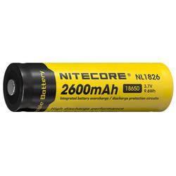 batterie rechargeable nitecore 2600mAh accu 18650 pile 3.7v NL1826 pour lampe torche - Voir en grand