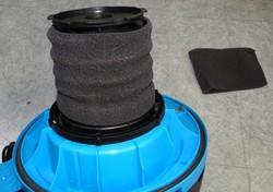 filtre mousse aspirateur aquavac boxter - Voir en grand