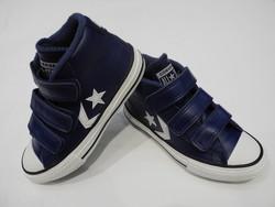 Chaussures CONVERSE montante velcro - Voir en grand