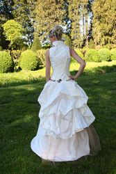 Robe de mariée modulable gourmandise détail dos - Voir en grand