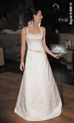 Robe de mariée modulable galaxiel version soirée - Voir en grand