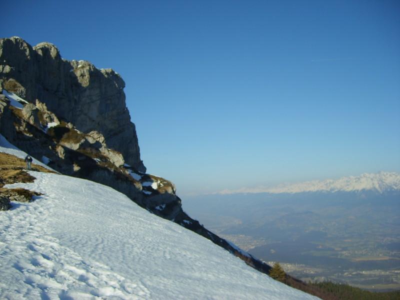 Vue sur la vallée de Grenoble depuis le Col de L'Arc  ( Photo : O.  FAVRE ) - Voir en grand
