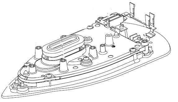 semelle pour centrale vapeur gc8620philips mena isere. Black Bedroom Furniture Sets. Home Design Ideas