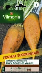 betterave fourragere jaune geante de vauriac vilmorin graine semence fourragere sachet grand modele