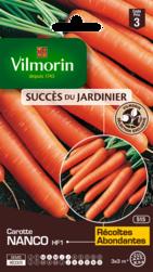 carotte nanco hybride f1 vilmorin graine semence potager sachet semis