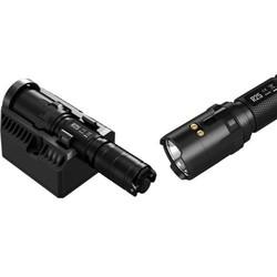 lampe nitecore r25 800 lumens torche rechargeable avec socle de chargement batterie accu bouton stro - Voir en grand