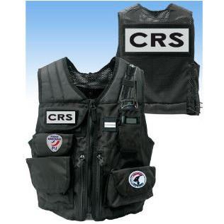 gilet d'intervention tactique d'identification porte accessoires forces de l'ordre - Voir en grand