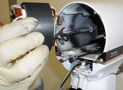 démontage intégral inducteur moteur robot  kitchenAid classic artisan ultra power