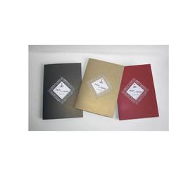 3 invitations mariage, papier Irisé, cadre triangulaire  ajouré, amalgame print grenoble - Voir en grand