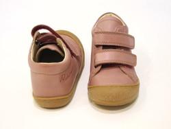 Chaussure bébé montante rose