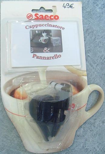 Cappucinatore noir machine robot café Saeco - Voir en grand