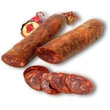 Chorizos ibériques de Bellota - Voir en grand