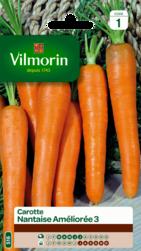 carotte nantaise amelioree 3 vilmorin graine semence potager sachet semis