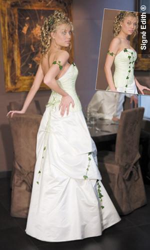 Robe de mariee modulable lierre version soirée - Voir en grand