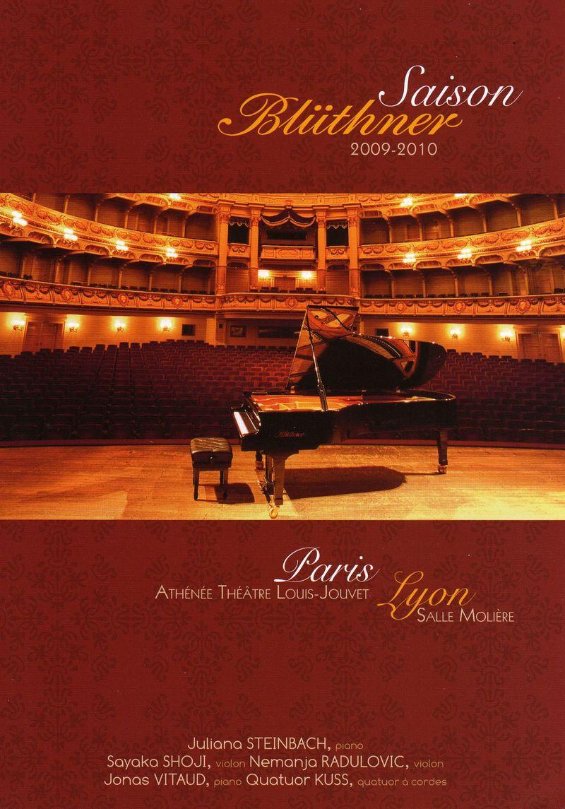 """""""SAISON BLUTHNER""""  - Service location pianos concert - ART & PIANO - Patrick BLERIOT - Voir en grand"""
