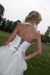 Robe de mariée grenoble détail dos - Voir en grand
