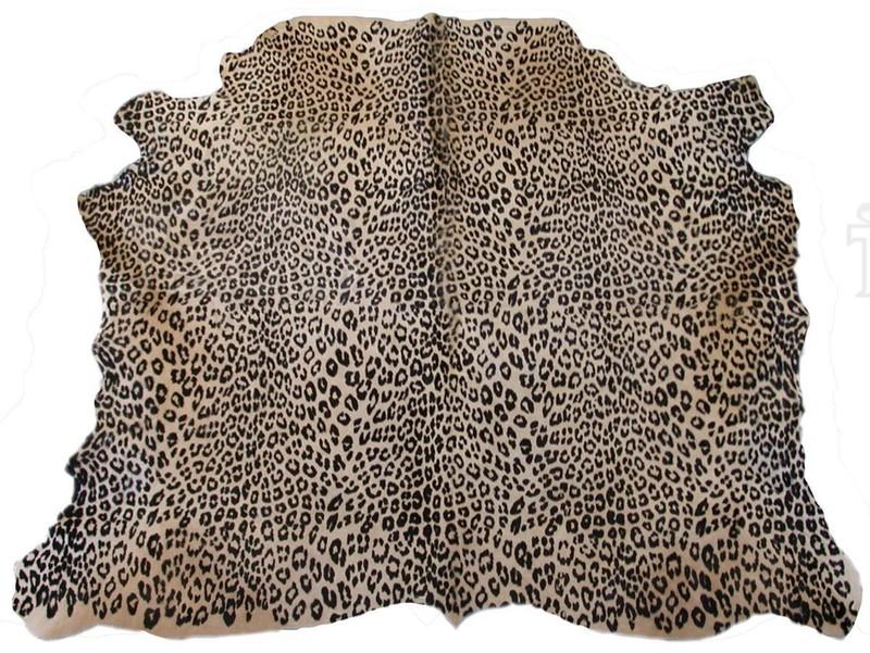 Peau de vache façon léopard - Peaux de vache et tapis - La Petite Boutique - Voir en grand