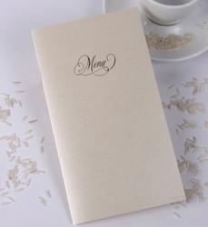Le Oui, carte menu mariage, invitation,  amalgame imprimerie grenoble - Voir en grand