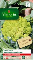 chou fleur romanesco precoce vilmorin graine semence potager sachet semis