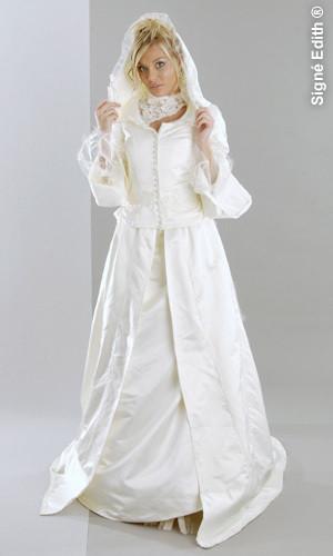 Robe de mariée hivers Créateur grenoble - Voir en grand