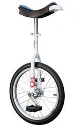 Monocycle Only One Standard Blanc 45 cm 18 - Voir en grand