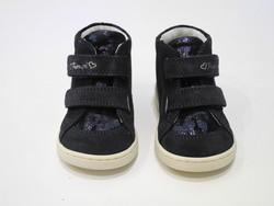 Chaussure cuir marine