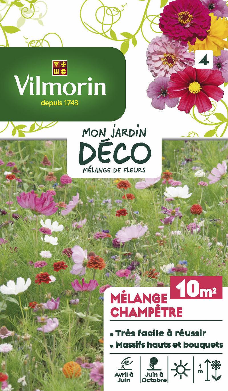 melange champetre mon jardin deco vilmorin graine semence melange massif - Voir en grand