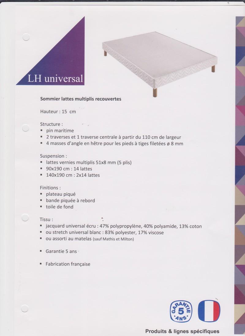 sommier lattes multiplis recouvertes vercors literie. Black Bedroom Furniture Sets. Home Design Ideas