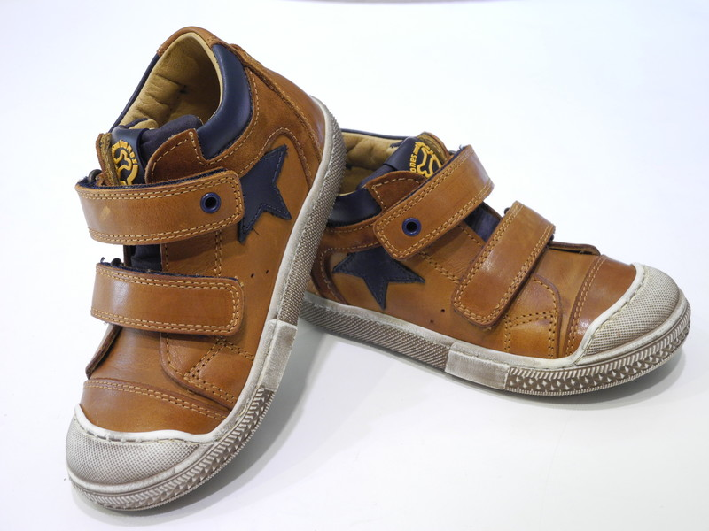Chaussures montante garçon velcros scratch - Voir en grand