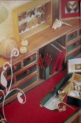 Les adhésifs décoratifs  - toiles cirées - DROGUERIE JOURNET - ALPES COULEURS - Voir en grand