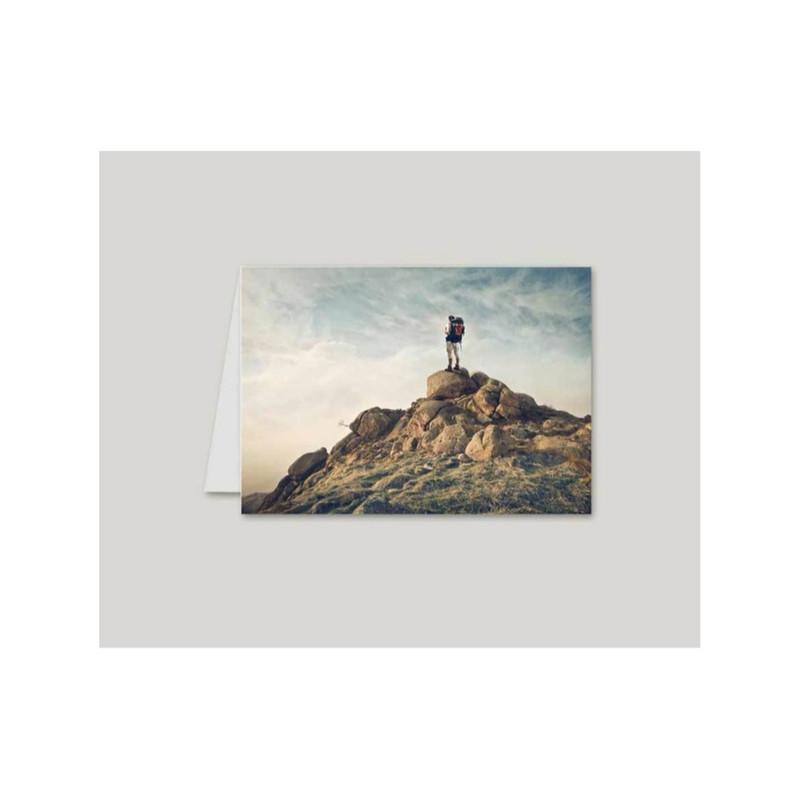 Osé ce calendrier de poche Personnalisé  avec une vue au sommet magnifique photo amalgame Print - Voir en grand