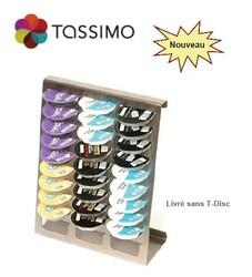 """Support """"James Premium"""" pour T-Disc TASSIMO Bosch rangement - Pièces détachées et accessoires Bosch - MENA ISERE SERVICE - Pièces détachées et accessoires électroménager - Voir en grand"""