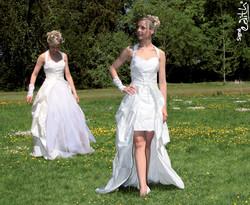 Robe de mariée modulable Onctueuse  Grenoble - Robes de mariée avec son serre taille - Création Signé Edith