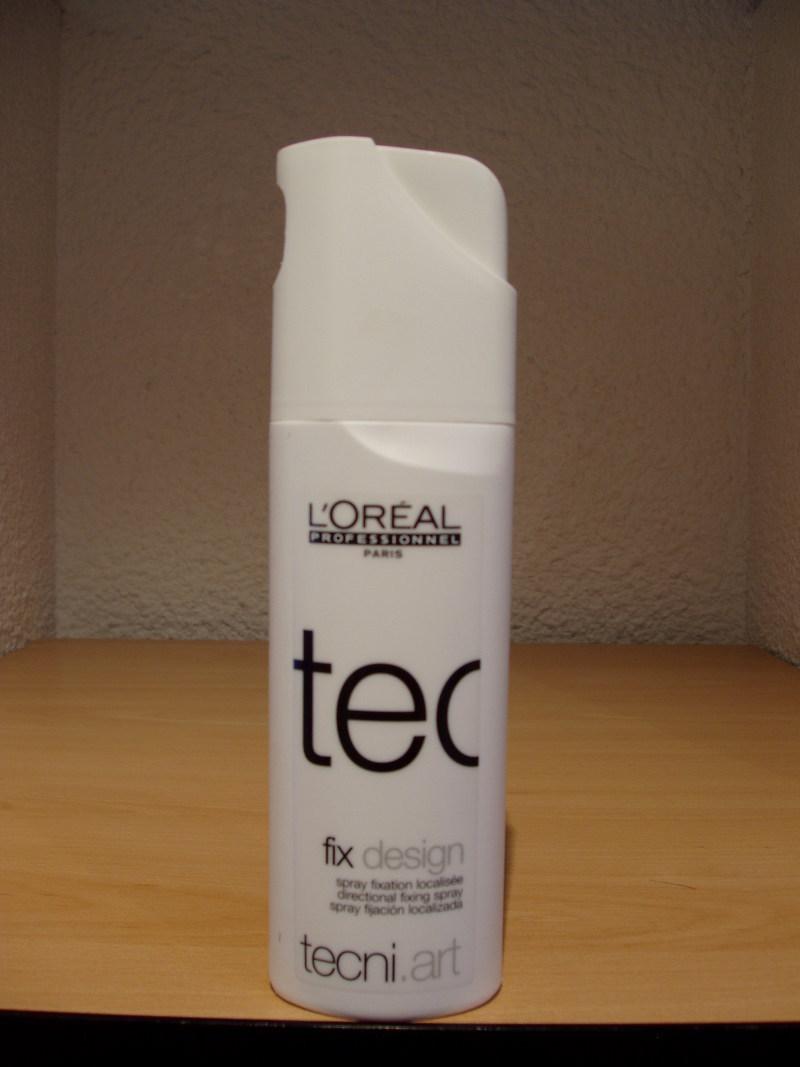 Spray Fix design - Produits L'oréal - ROSELINE COIFFURE - Voir en grand