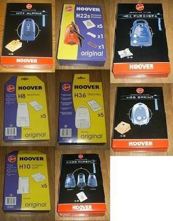 sacs aspirateur hoover nombreux mod les de sacs. Black Bedroom Furniture Sets. Home Design Ideas
