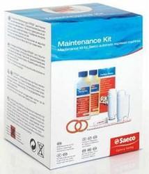 Kit entretien Saeco filtre graisse tablette dégraissage filtre intenza joint de groupe brosse saeco - Voir en grand