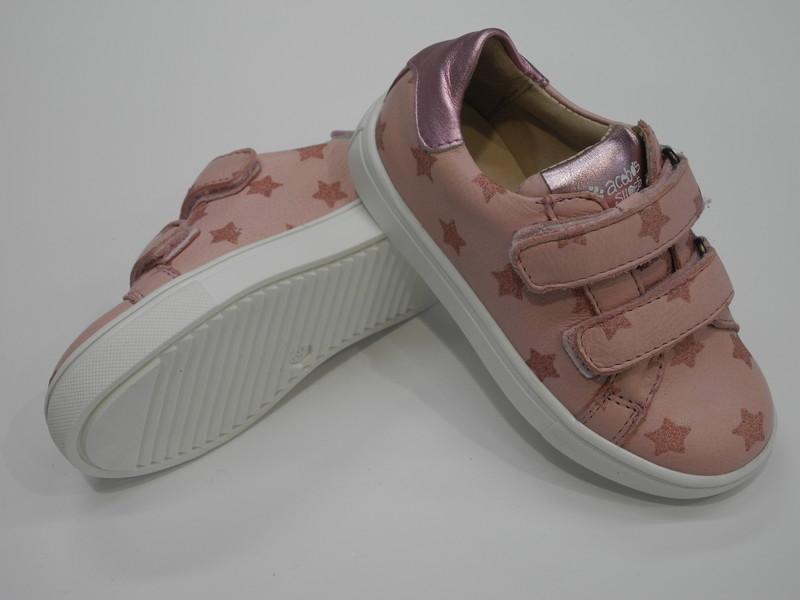 Chaussure velcro fille ACEBOS - Voir en grand