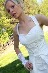 Robe de mariee modulable grenoble onctueuse détail devant