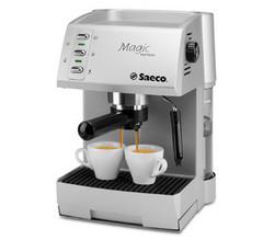 Exemple d'une machine à café Magic Saeco compatible avec la buse