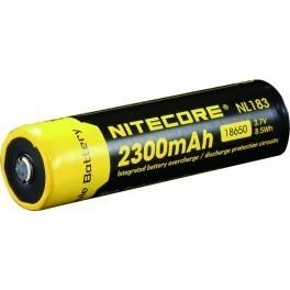 accu rechargeable nitcore 2300mAh 1865 NL183 Li-ion 3.7V - Voir en grand