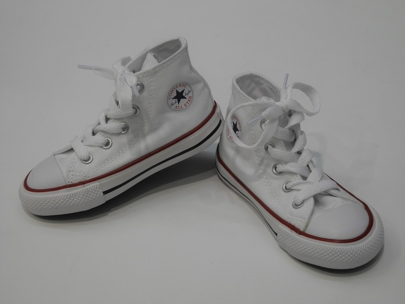 chaussure toile converse blanc